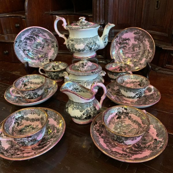 Child's Tea Set, Villaris Pattern by Davenport