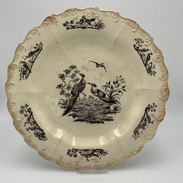 Pair Wedgwood Creamware Plates