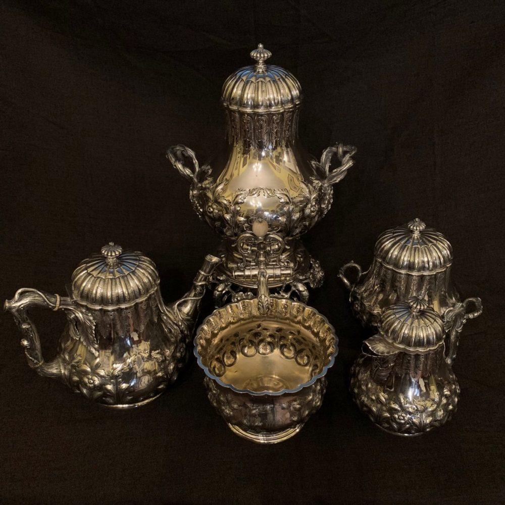 A Fabulous Charleston Tea Service, Hayden & Whilden