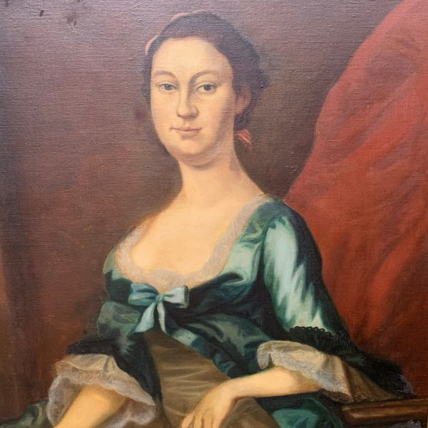 John Wallaston, Betty Washington Lewis Copied by Willis Pepoon