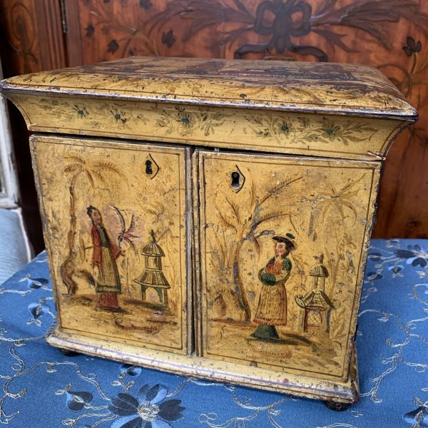 Chinoiserie Decorated Jewelry Chest
