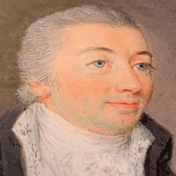 Miniature Portrait of a Gentleman