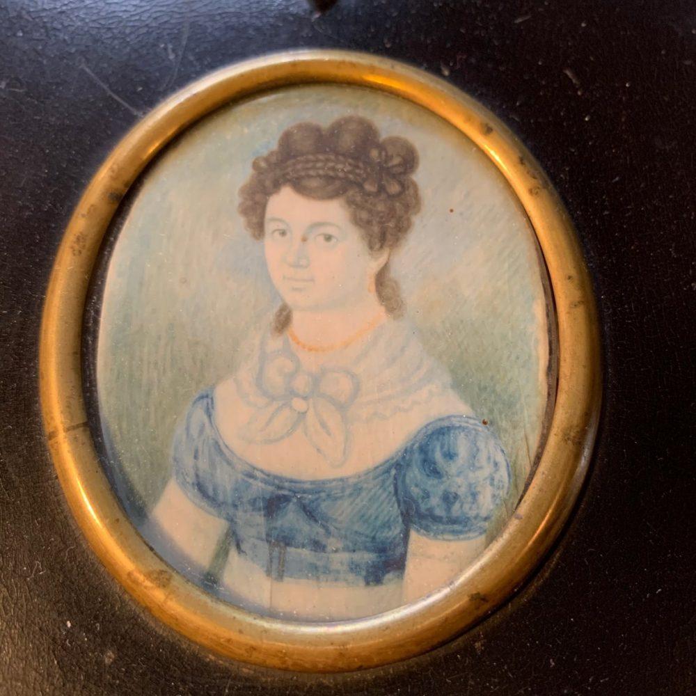 Miniature Portrait of Anne Campbell, June 1823