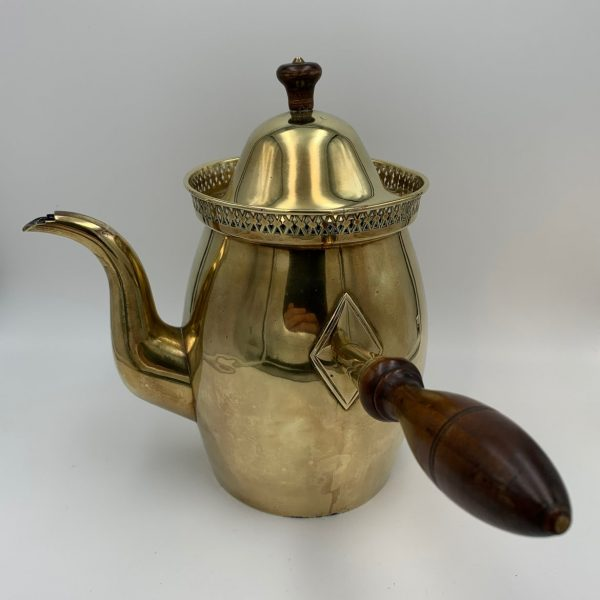 Brass Side Handle Pot