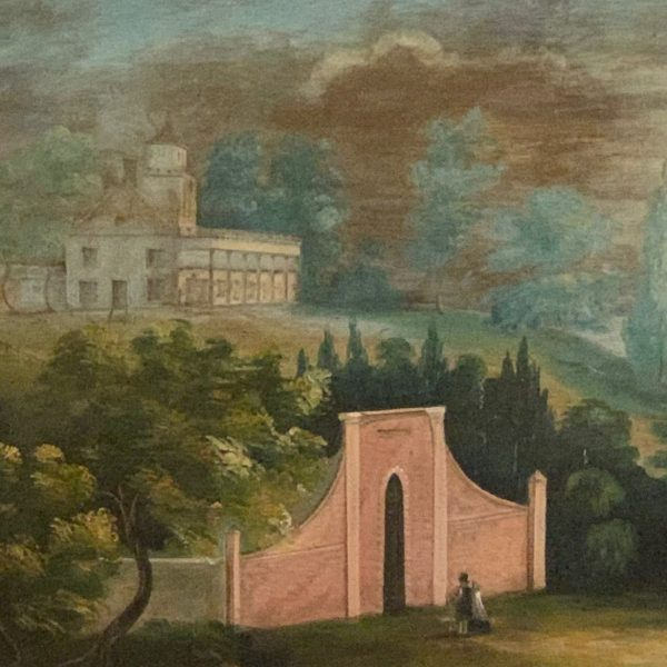 Mt. Vernon, The New Tomb, Oil on Canvas