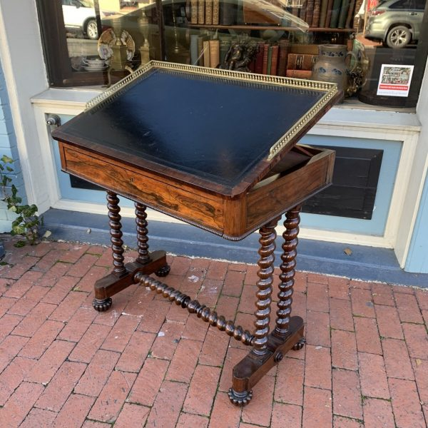 William IV Rosewood Writing Table