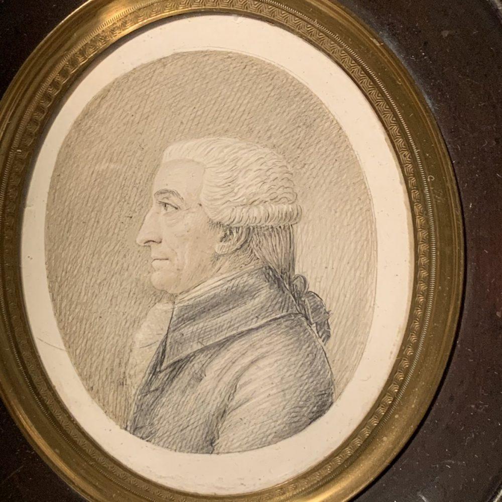 French Miniature Portrait