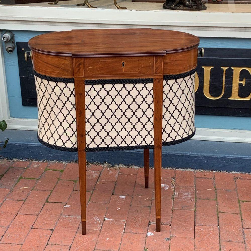 Hepplewhite Sewing Table
