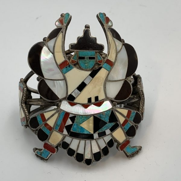 "Large Zuni ""Knife Wing God"" Bracelet"
