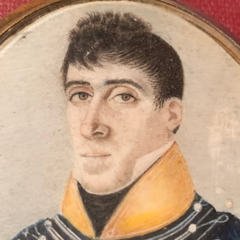 Dragoon Officer, Miniature Portrait