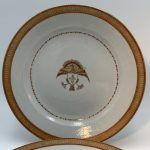 image of Chinese Export Nanking Pattern Well & Tree Platter