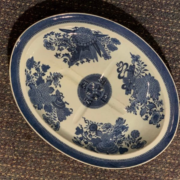 Chinese Export Fitzhugh Pattern Well & Tree Platter