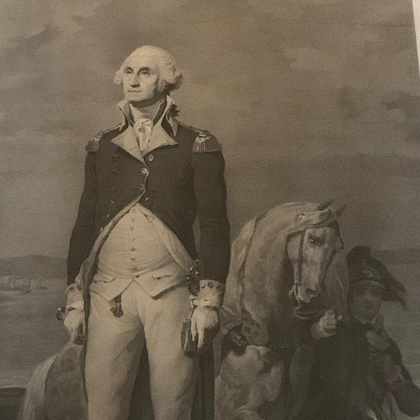 A Beautifully Engraved Large Portrait of Washington