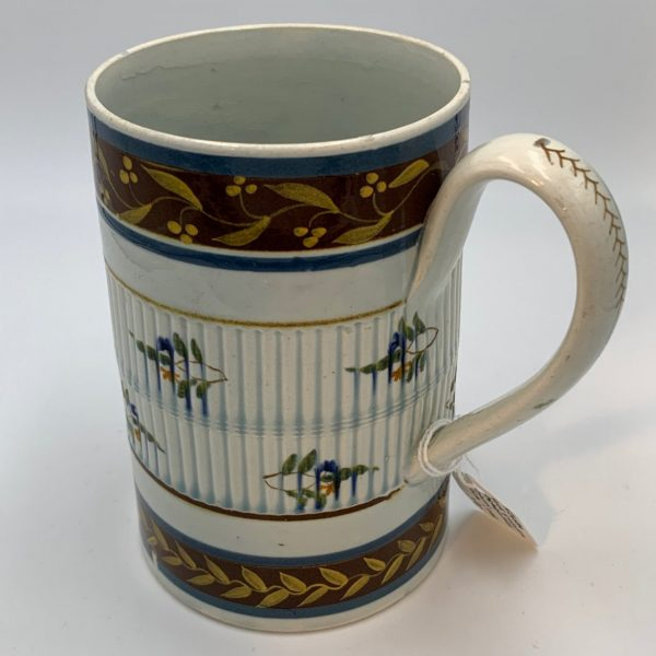An Exceptional Pearlware Cann