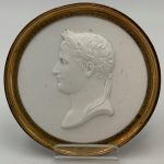 image of Watercolor Miniature Portrait, signed Watts