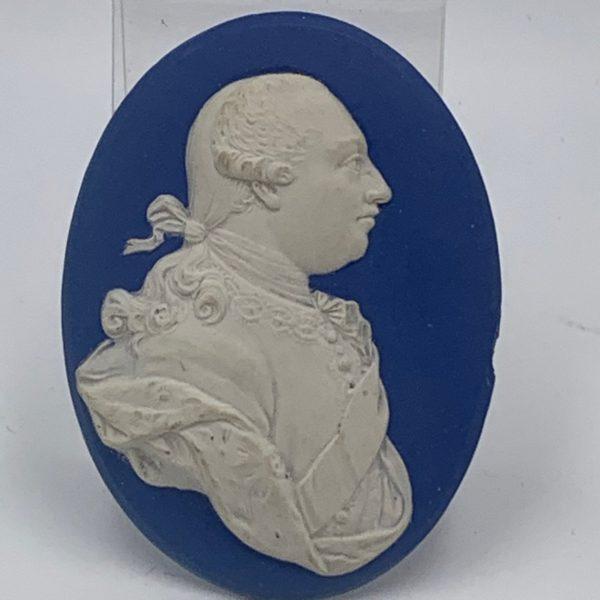 Wedgwood Portrait Medallion of George III