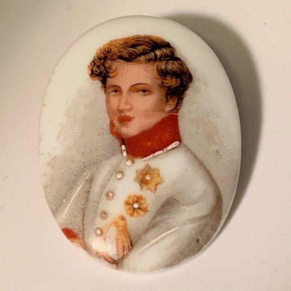 Limoges Porcelain Miniature of Napoleon II