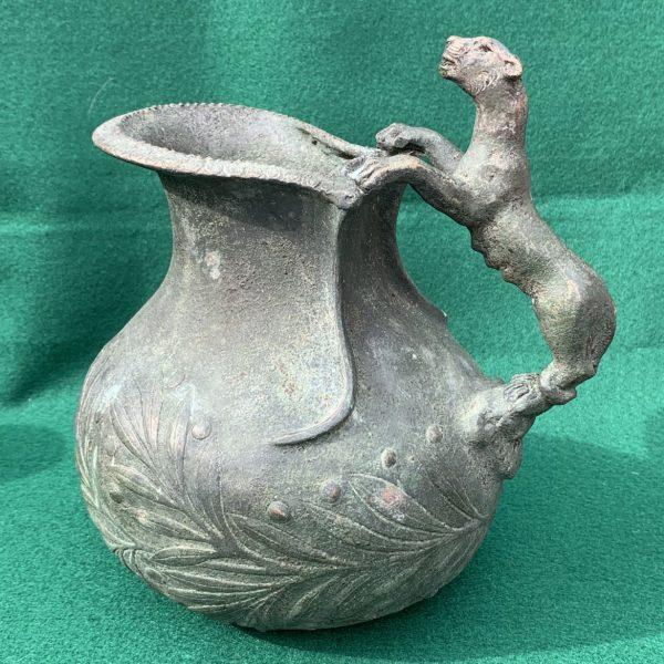 Roman Style Bronze Askos, Grand Tour Souvenir