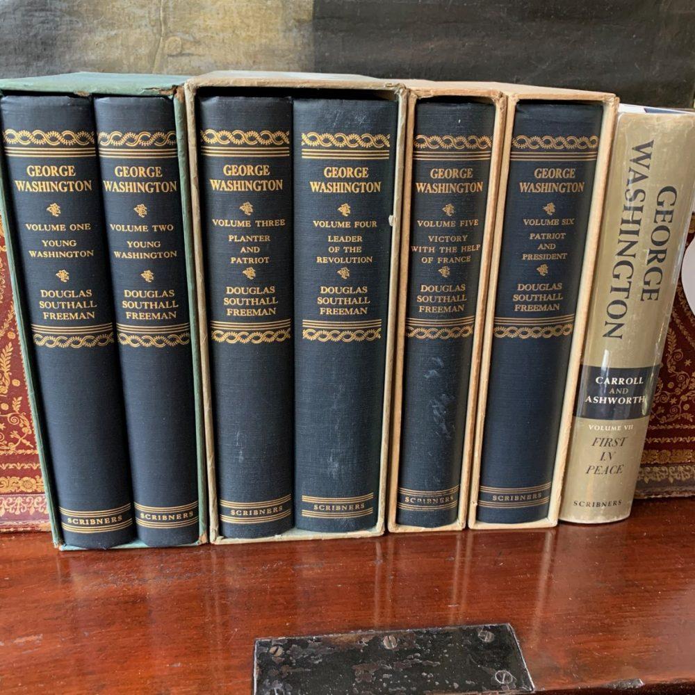 Douglas Southall Freeman's George Washington, First Edititons