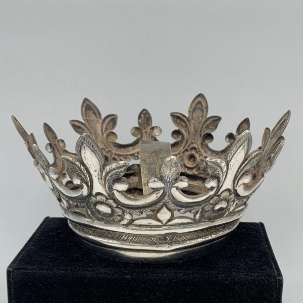 Spanish Colonial Silver Madonna Crown