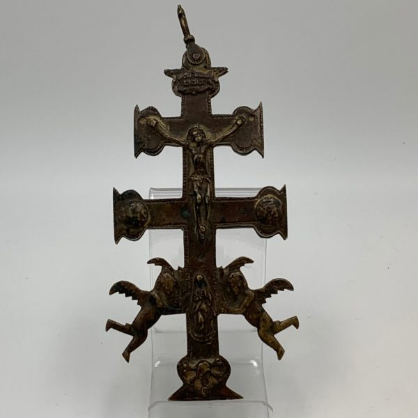 Early Bronze Cross of Caravaca