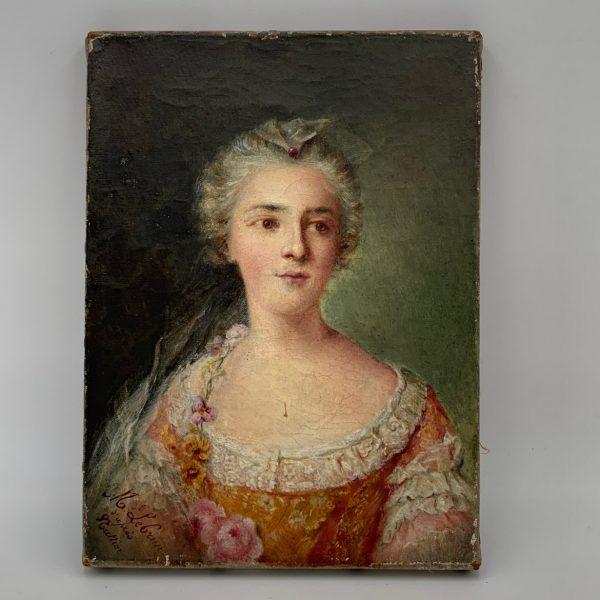 Madame Sophie de France, After Jean-Marc Nattier, signed LeBrun