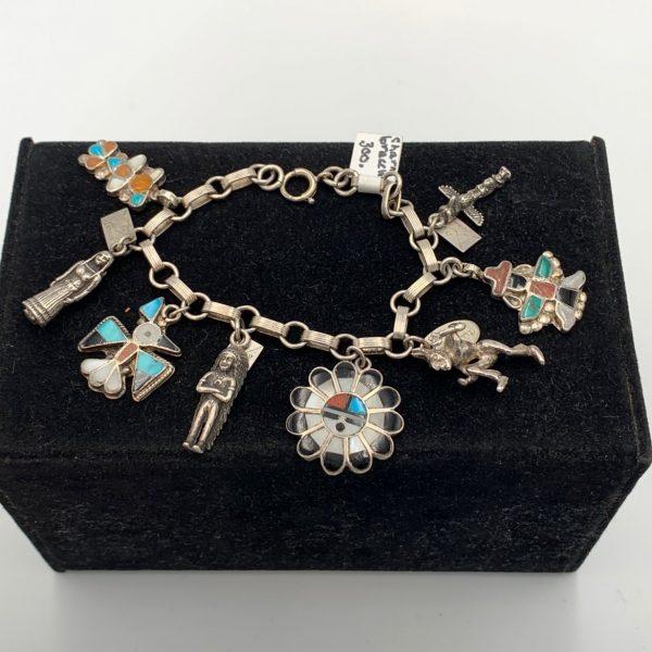A Native American Charm Bracelet