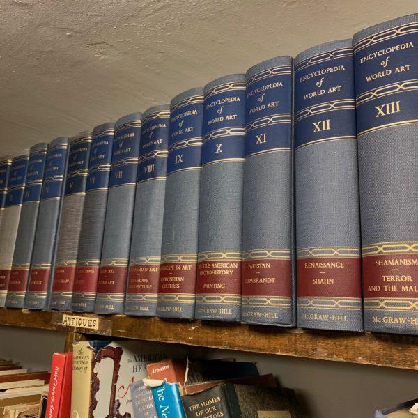 Encyclopedia of World Art, 15  Volumes