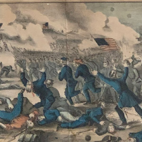 Currier & Ives Battle of Fredericksburg