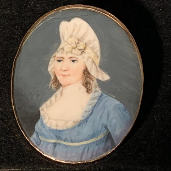 A Virginia Miniature Portrait, Catherine Page Bell Alcock of Orange County