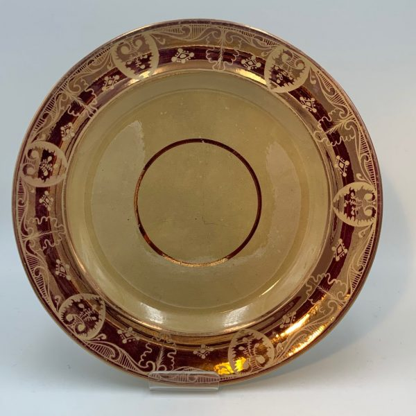 "Rare Drab Porcelain"" Dessert Service by Thomas Lakin"