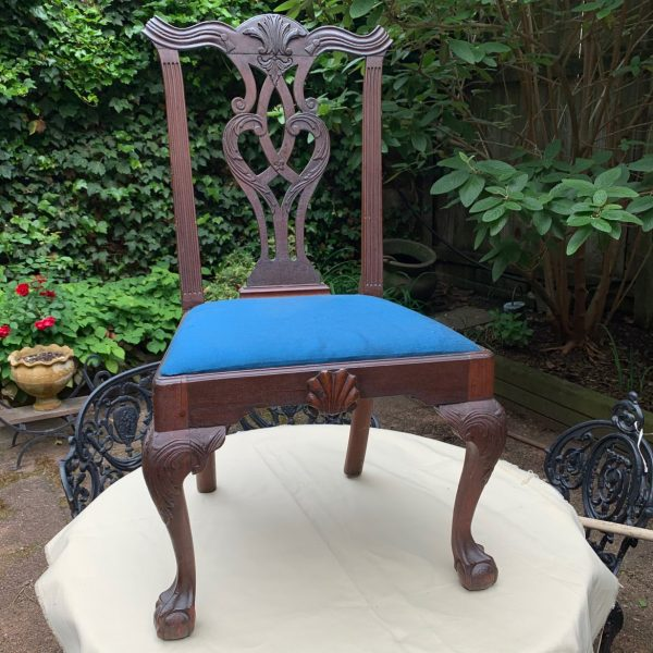Maryland Chippendale Carved Mahogany Chair