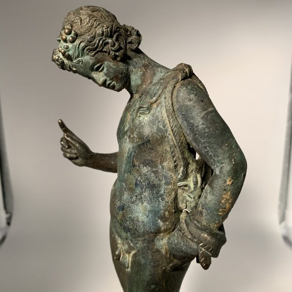 Dionysos, often called Narcissus, Roman Bronze of The Grand Tour