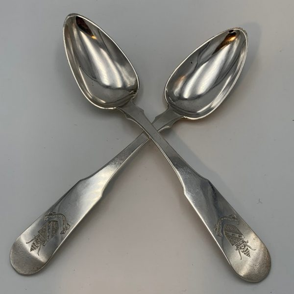 Early Kirk Silver Tablespoons