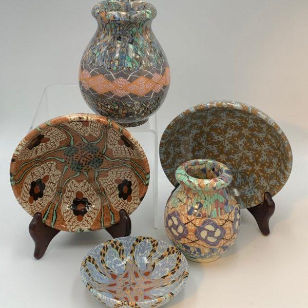 Jean Gerbino Mosaic Pottery