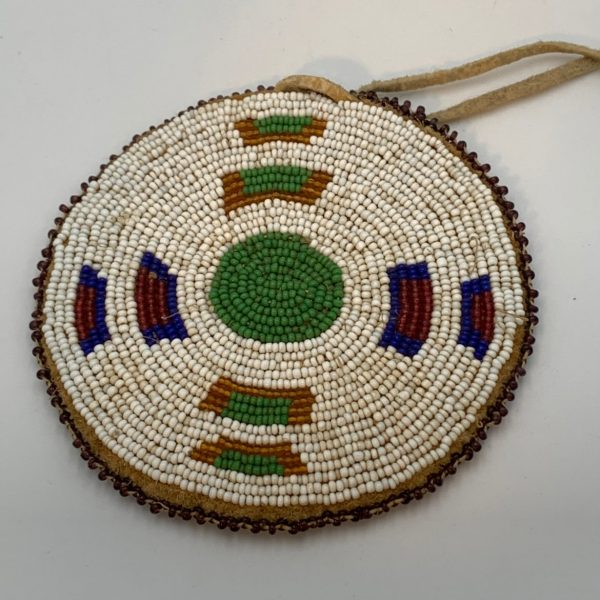 Beaded Medallion, Blackfoot or Shoshone Bannock