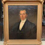 image of Wedgwood Basalt Dr. Samuel Johnson Portrait Plaque