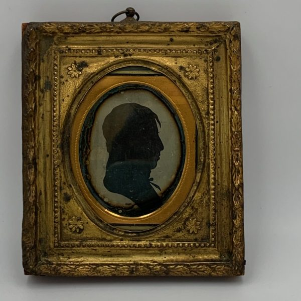 Rare Daguerreotype of an Earlier Silhouette
