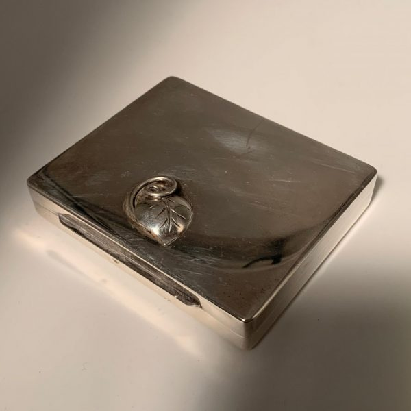 Sterling Silver Card Case, Charles Thomae, Attleboro, Mass.