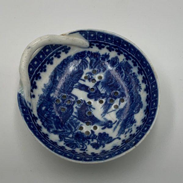 Caughley Porcelain Egg Drainer
