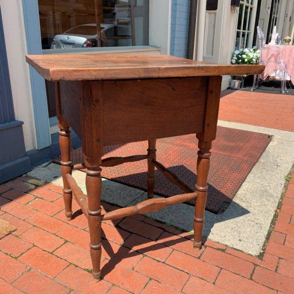 Southern Walnut Stretcher Base Table