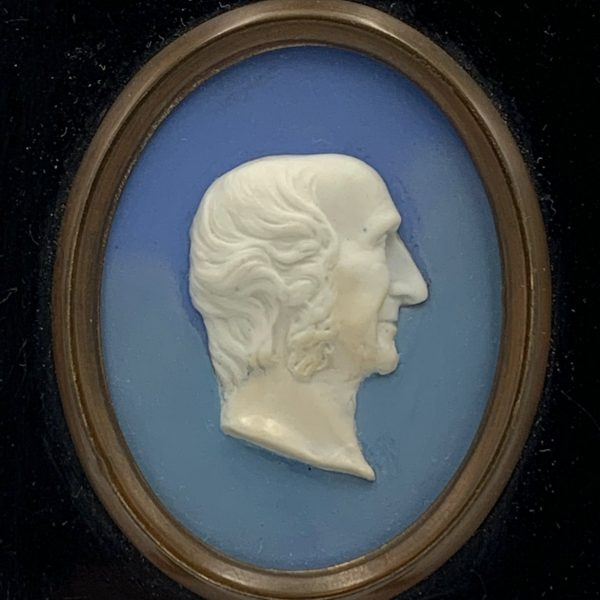 Wedgwood Portrait Medallion of Sir William J. Hooker