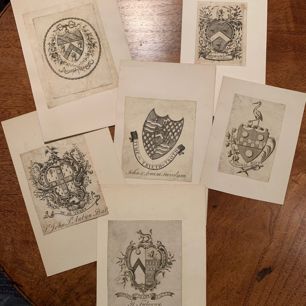 Collection of Early English Bookplates