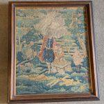 image of Embroidered Velvet Purse/Pocketbook