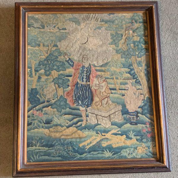 The Sacrifice of Isaac, A Fine English Needlework