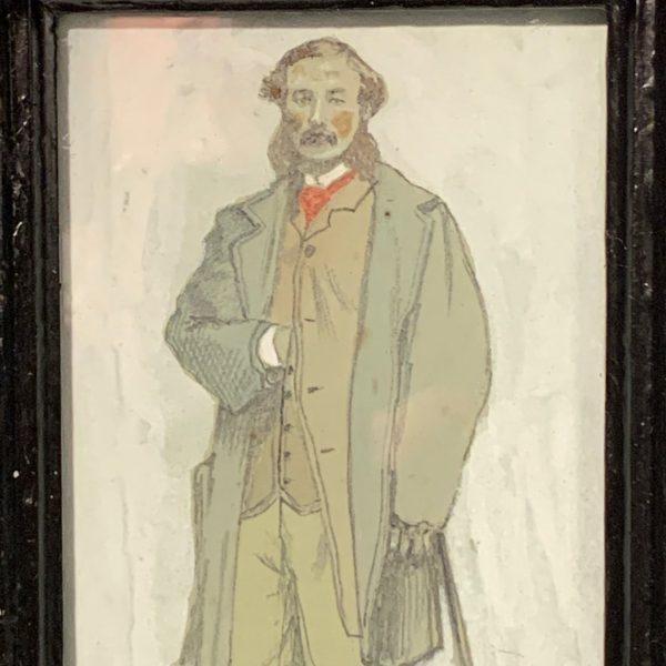 Henry Thomas, 1864, Virginia, Small Portrait