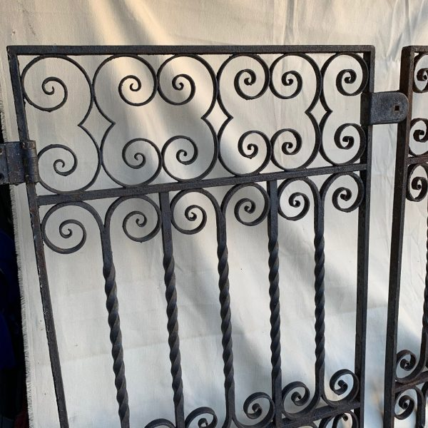 Victorian Wrought Iron Small Gates