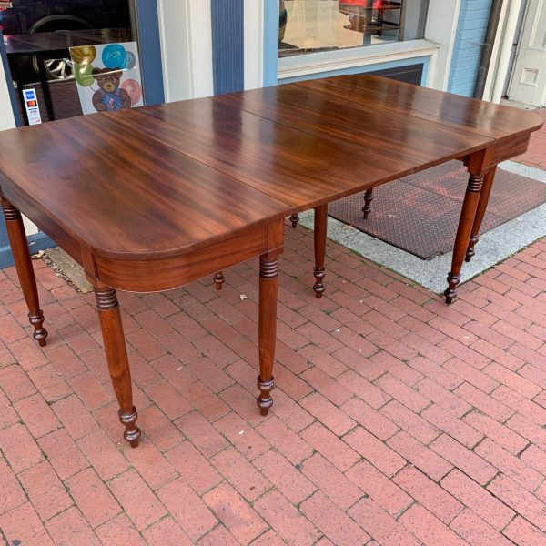 Virginia Sheraton Two Part Dining Table