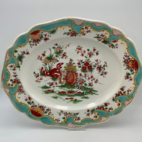 Chamberlain's Worcester Jabberwocky Pattern Platter