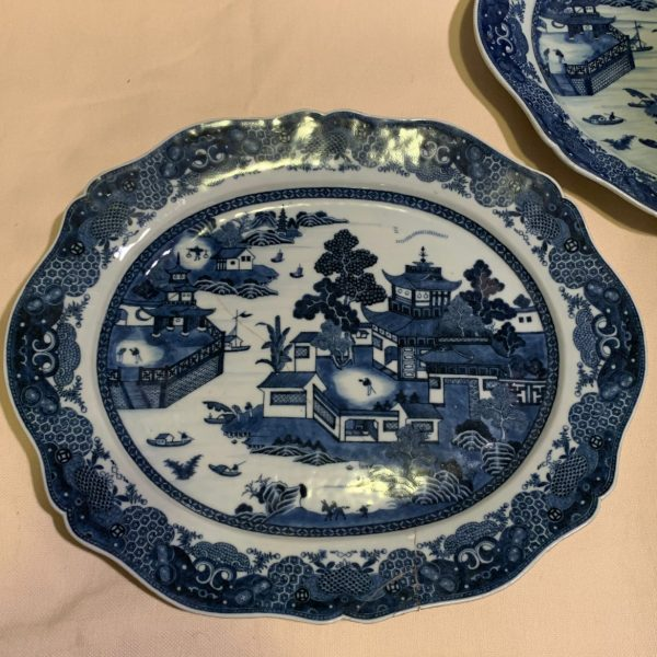 Chinese Export Porcelain Platters